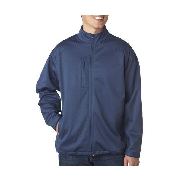 8477 UltraClub® Soft Shell Solid Jacket