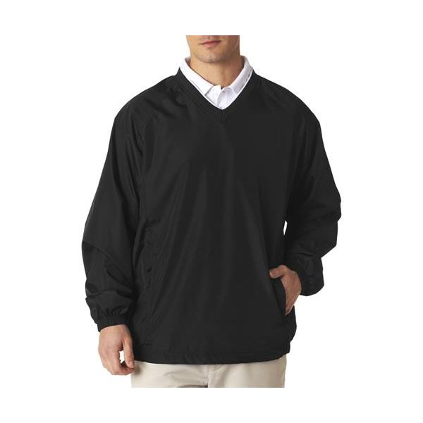 8937 UltraClub® Adult Micro-Poly Windshirt