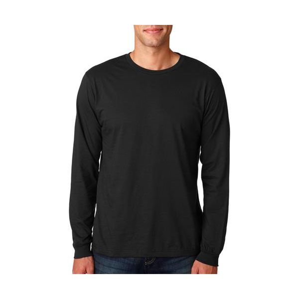 949 Anvil Adult Long-Sleeve Fashion Fit Cotton Tee  - 949-Black