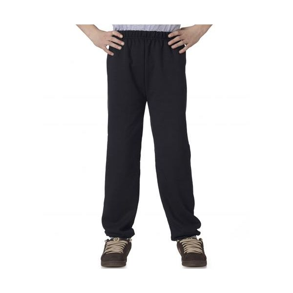 973B Jerzees Youth NuBlend® 50/50 Sweatpants  - 973B-Black