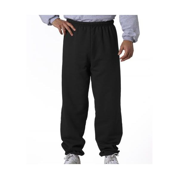 973 Jerzees Adult NuBlend® 50/50 Sweatpants  - 973-Black