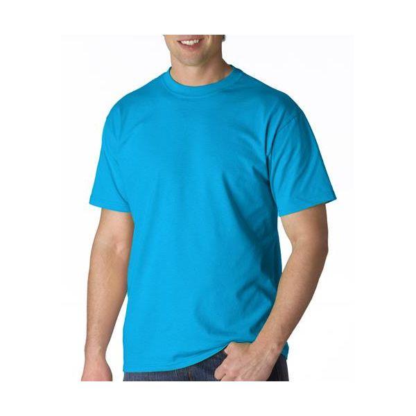 979 Anvil Adult Heavyweight Cotton Tee  - 979-Caribbean Blue