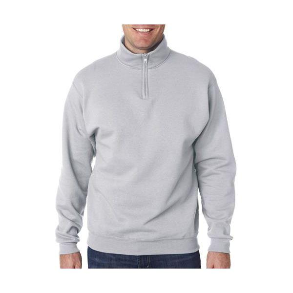 995 Jerzees Adult NuBlend® Quarter-Zip Cadet-Collar Sweatshirt