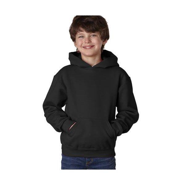 996Y Jerzees Youth NuBlend® Hooded 50/50 Pullover Sweatshirt  - 996Y-Black