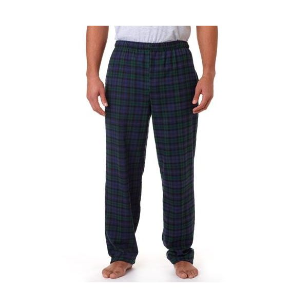 9970 Robinson Adult Cotton Flannel Pants  - 9970-Blackwatch