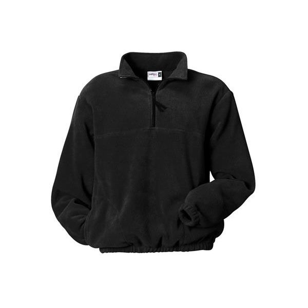 B2410 Badger Adult Quarter Zip Jacket  - B2410-Black