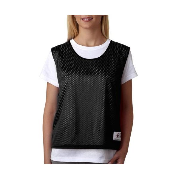 B8960 Badger Ladies' Lacrosse Practice Jersey  - B8960-Black/ White