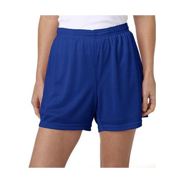 CA33 Champion Ladies' Active Mesh Polyester Shorts  - CA33-Athletic Royal