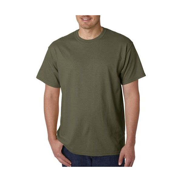G5000 Gildan Adult Heavy Cotton T-Shirt  - G5000-Military Green