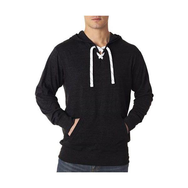 J8231 J-America Adult Sport Lace Jersey Hooded Fleece