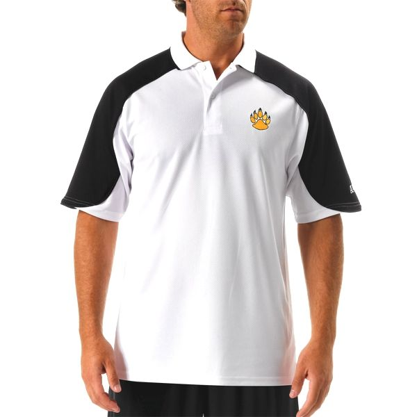 N3170 A4 Adult Open Sleeve Color Block Moisture Management Polo Shirt