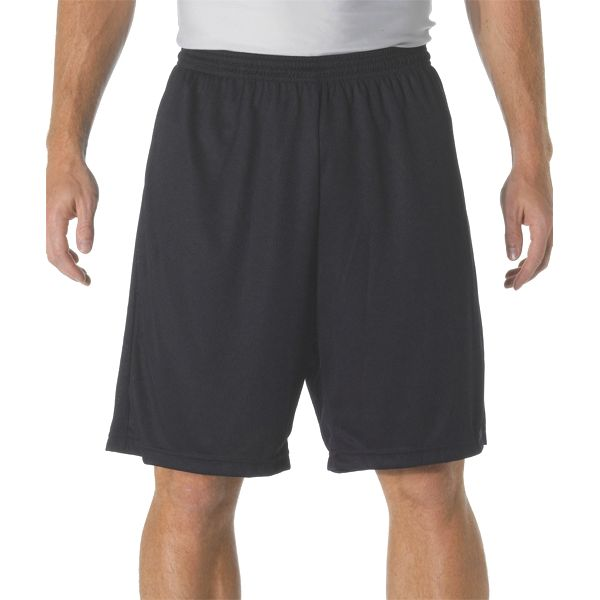 """NB5281 A4 Youth 7"""" Cooling Performance Power Mesh Practice Short"""