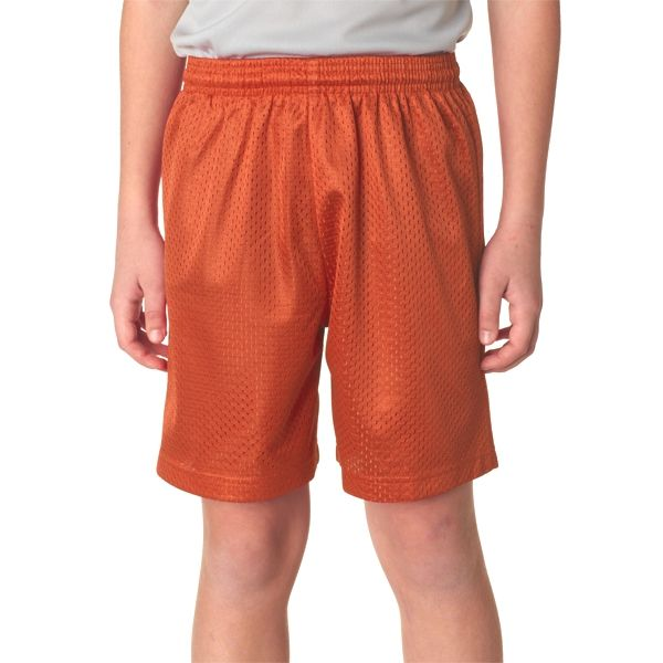 """NB5301 A4 Youth 6"""" Lined Tricot Mesh Shorts"""