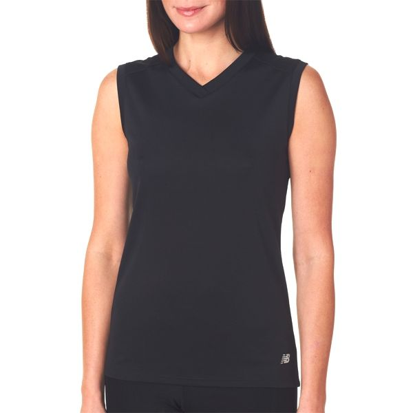 NB7117L New Balance Ladies' NDurance Athletic Workout V-Neck T-Shirt