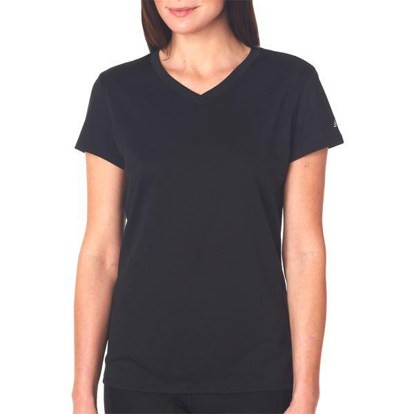 NB7118L New Balance Ladies' NDurance Athletic V-Neck T-Shirt
