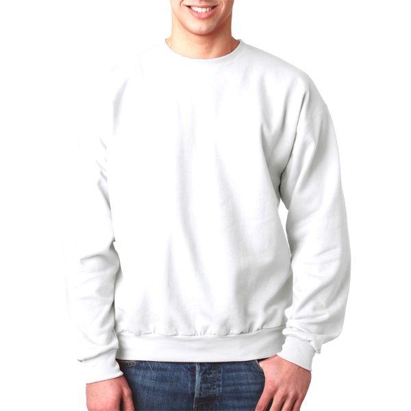 P160 Hanes Adult ComfortBlend® EcoSmart® Crewneck  - P160-White