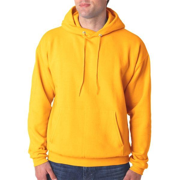 P170 Hanes Adult ComfortBlend® EcoSmart® Hooded Pullover  - P170-Gold