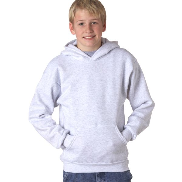P470 Hanes Youth ComfortBlend® EcoSmart® Hooded Pullover  - P470-Ash (50/50)