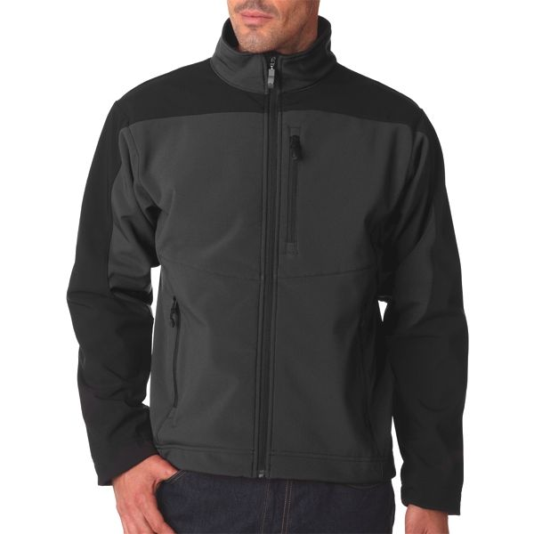 S4200 Storm Creek Men's StormX Soft Shell Jacket  - S4200-Tar/ Black