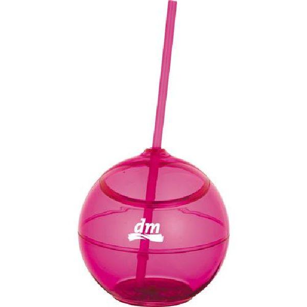 Fiesta 20-oz. Ball with Straw