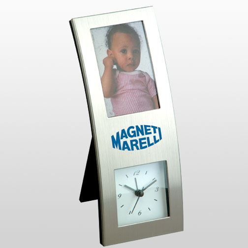 "2.5"" x 3.5"" Picture Frame Clock"