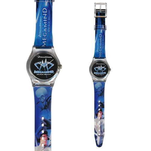 4 color Process Plastic Watch