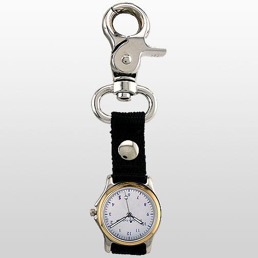 Gold Clip Watch