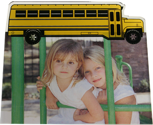 """Laser Shaped Magnetic Frames - Available in 2.5""""x3.5"""", 3.5""""x5"""", 4""""x6"""", and 5""""x7"""" Photo Sizes"""