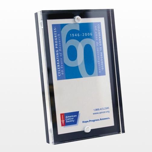 Business Card Entrapment