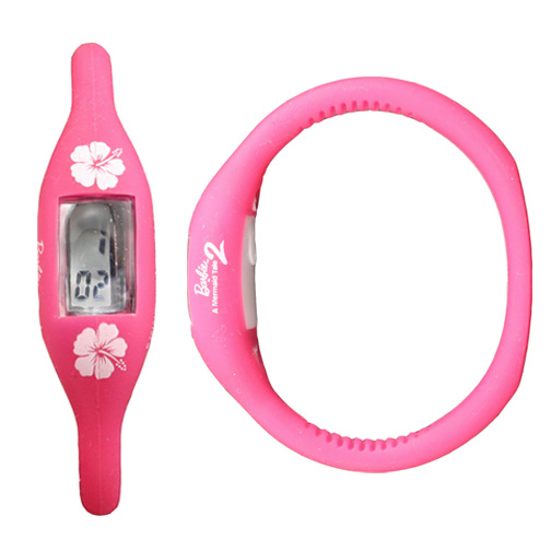 Silicone LCD Watch Wristband
