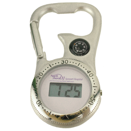 LCD Carabiner Clip Union Watch