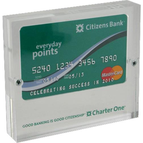 3 Piece Credit Card Entrapment
