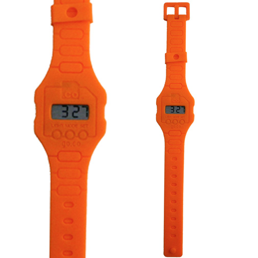 Silicone LCD Watch