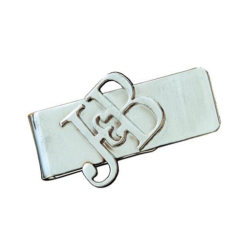 Dye struck money clip