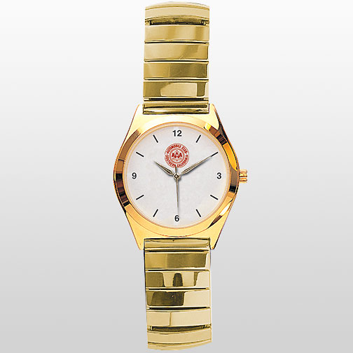 Gold Watch with Expansion Band