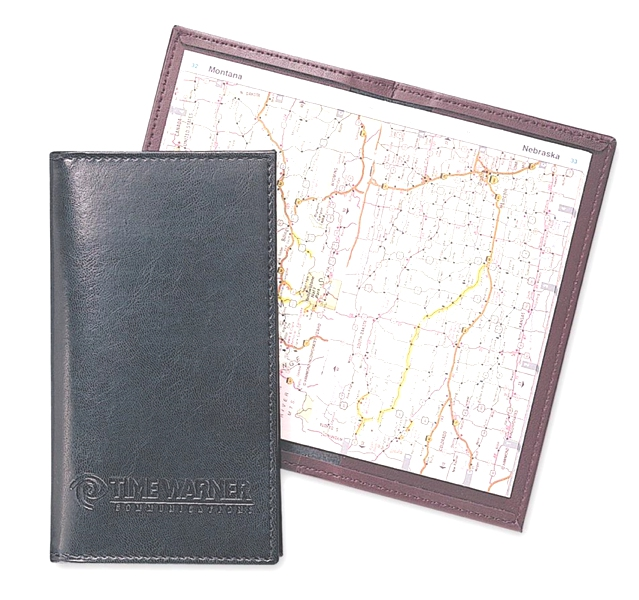 Stitched Pocket Atlas - Made in USA Union Bug Available