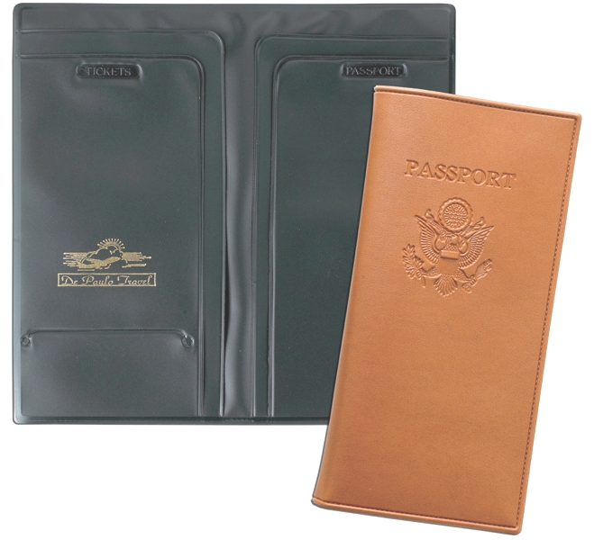American Passport Case - Made in USA Union Bug Available