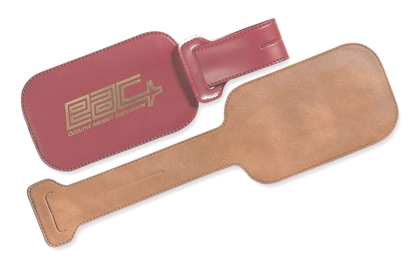 Wrap-Lock Luggage Tag - Made in USA Union Bug Available