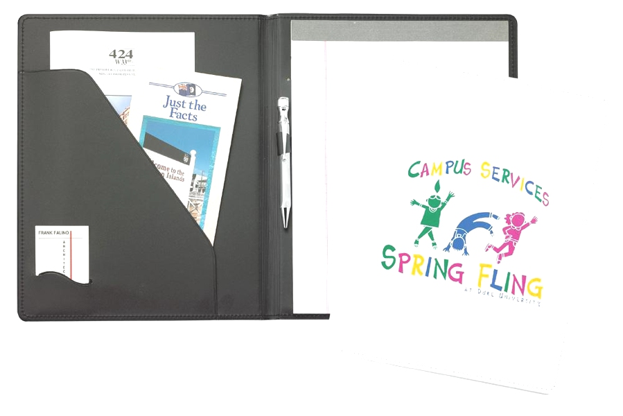 Premium Letter Folder - Made in USA Union Bug Available