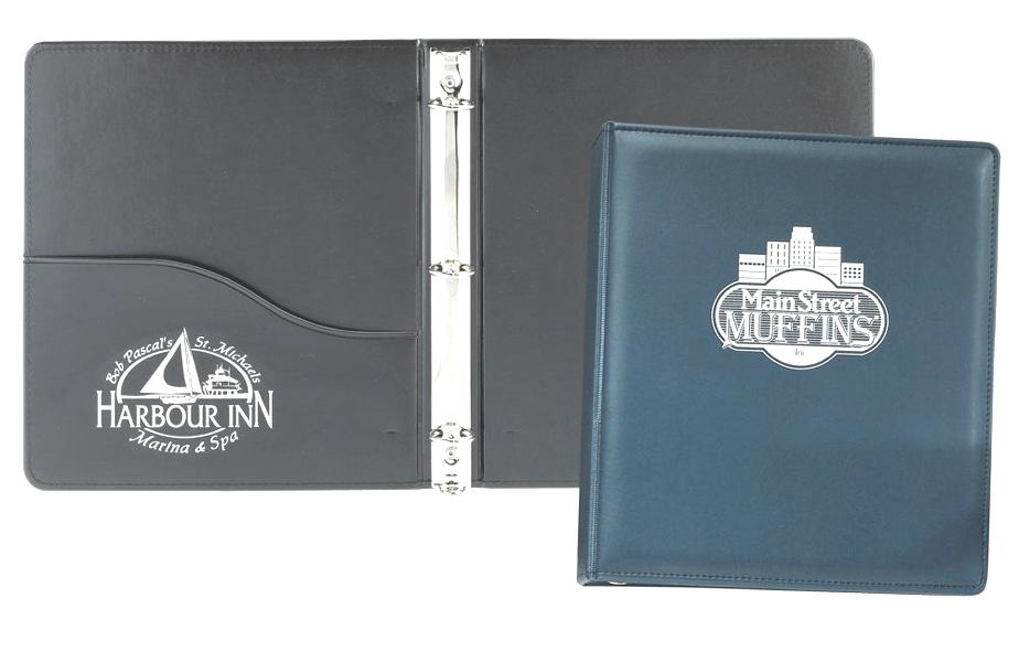 "Lethredge 1"" Ring Binder - Made in USA Union Bug Available"