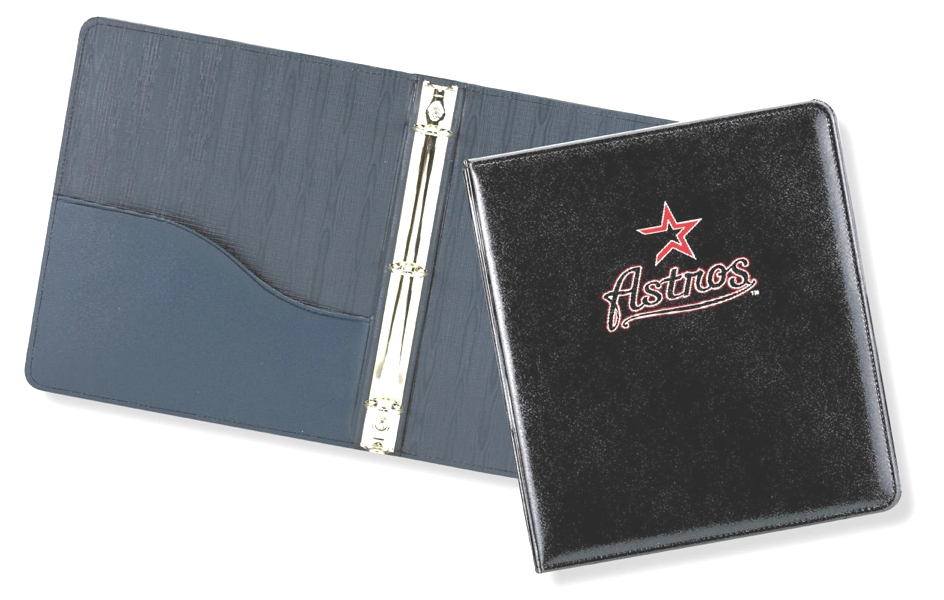"Lethredge® 1/2"" Moiré Ring Binder - Made in USA Union Bug Available"
