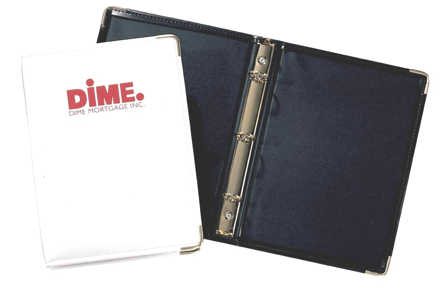 "Elite® Junior 3/4"" Ring Binder - Made in USA Union Bug Available"