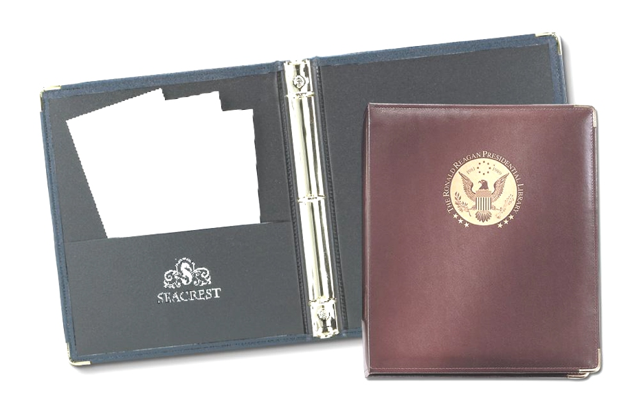 "Elite®  1"" Ring Binder - Made in USA Union Bug Available"