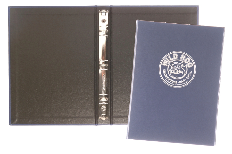 "1/2"" Junior Ring Binder - Made in USA Union Bug Available"