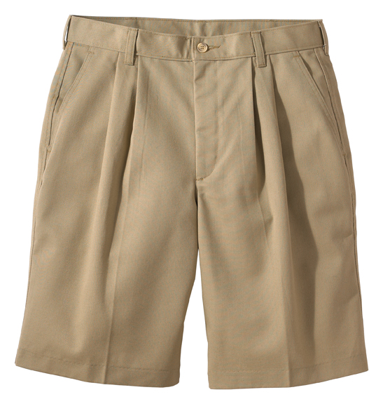 "MEN'S PLEATED SHORT 11"" INSEAM - MEN'S PLEATED SHORT 11"" INSEAM"