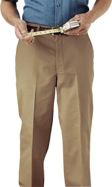 MEN'S UTILITY FLAT FRONT PANT - MEN'S UTILITY FLAT FRONT PANT