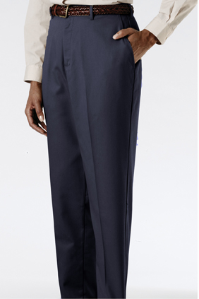 MEN'S EASY FIT CHINO FLAT FRONT PANT - MEN'S EASY FIT CHINO FLAT FRONT PANT