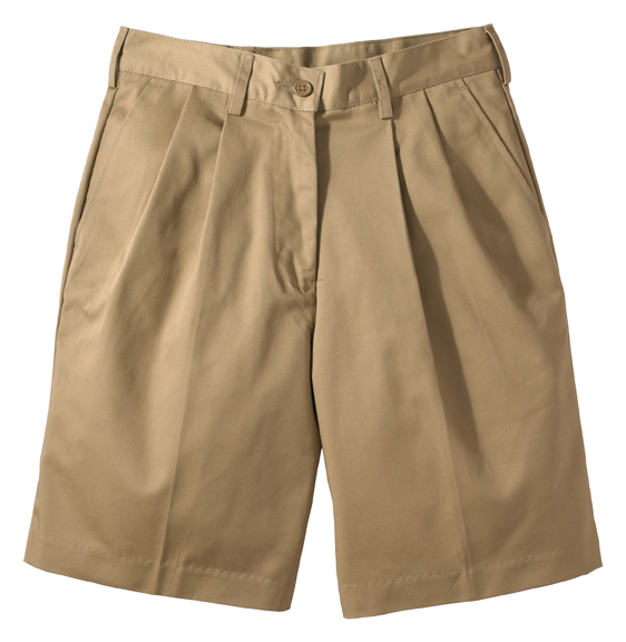 "WOMEN'S UTILITY PLEATED SHORT 9/9.5"" INSEAM - WOMEN'S UTILITY PLEATED SHORT 9/9.5"" INSEAM"