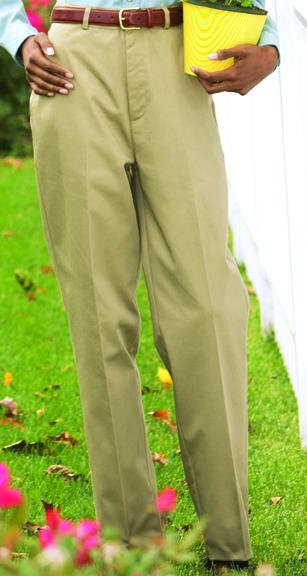 WOMEN'S UTILITY FLAT FRONT PANT - WOMEN'S UTILITY FLAT FRONT PANT