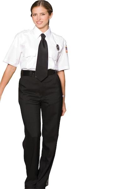 WOMEN'S FLAT FRONT SECURITY PANT - WOMEN'S FLAT FRONT SECURITY PANT